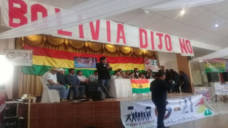 -21F:-Colectivos-Ciudadanos-declaran-dictador-al-presidente-Evo-Morales