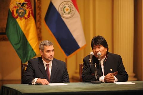 Morales-confirma-viaje-a-Paraguay-para-la-posesion-del-presidente-electo-Mario-Abdo