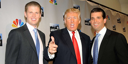 EEUU-gasto-250.000-dolares-en-proteger-2-hijos-de-Trump-en-viajes-de-empresa