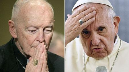 El-papa-Francisco-aparto-de-sus-funciones-al-arzobispo-emerito-de-Washington-Theodore-McCarrick,-acusado-de-abusos-sexuales