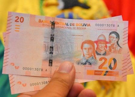 En-circulacion-nuevo-billete-de-20-bolivianos