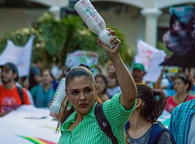 Santa-Cruz:-Disponen-medidas-cautelares-para-la-activista-de-Árbol,-Eliana-Torrico