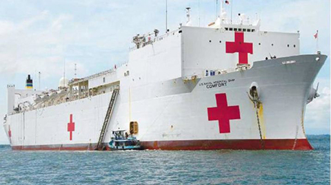 EEUU-enviara-un-buque-hospital-a-Colombia-para-ayudar-a-refugiados-venezolanos