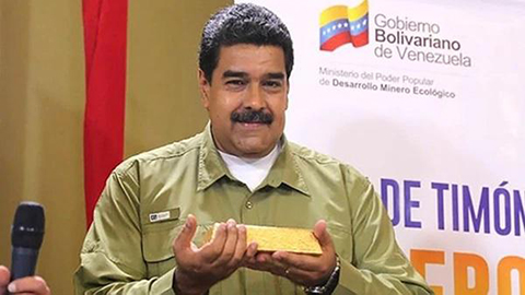 Maduro-dice-Venezuela-vendera-pequenos-lingotes-de-oro-a-la-poblacion-para-incentivar-ahorro