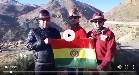Mineros-de-Huanuni-se-solidarizan-con-Los-Yungas-por-atropellos-y-asesinatos