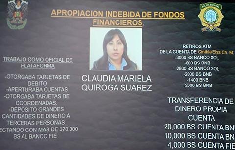 Capturan-a-una-funcionaria-acusada-de-desfalco-en-el-Banco-Fie