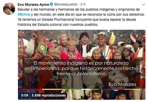 Evo-celebra-el-Dia-de-los-Pueblos-Indigenas-y-ratifica-lucha-para-reparar-yugo-del-Estado-colonial