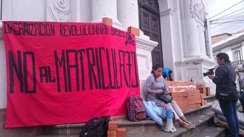 Tras-el--matriculazo--en-San-Francisco-Xavier,-estudiantes-radicalizan-sus-protestas