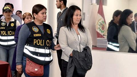 Keiko-Fujimori,-la--mujer-mas-poderosa-de-Peru-,-cumple-un-ano-en-prision