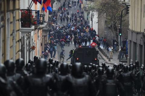 350-detenidos-durante-protestas-contra-medidas-economicas-en-Ecuador