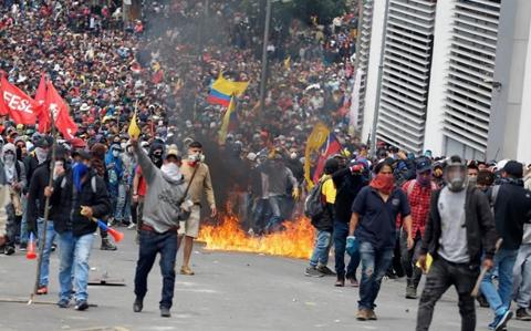 Crecen-protestas-en-Guayaquil-contra-medidas-del-Gobierno-de-Ecuador