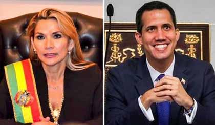 Anez-reconocera-a-Embajador-de-Venezuela-que-designe-Guaido