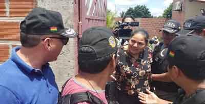 Policia-aprehende-a-Deisy-Choque,-excandidata-del-MAS