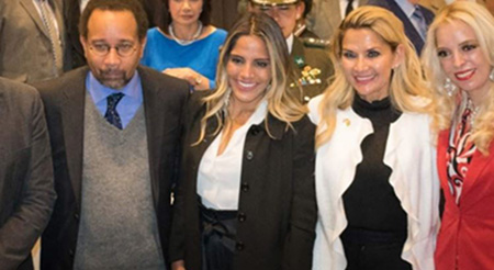 La-hija-de-Jeanine-Ánez-es-la-nueva-representante-en-Gestion-Social-de-la-Presidencia