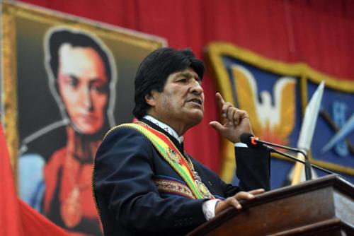 """Morales-califica-de-""""intervencionismo""""-la-ayuda-humanitaria-de-EEUU-a-Venezuela"""