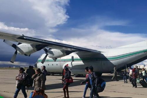 El-Gobierno-suspende-los-vuelos-solidarios-entre-Beni-y-La-Paz
