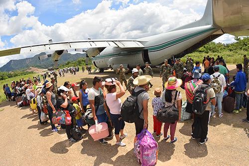 -Llego-a-Rurrenabaque-el-primer-vuelo-solidario-habilitado-por-el-Gobierno