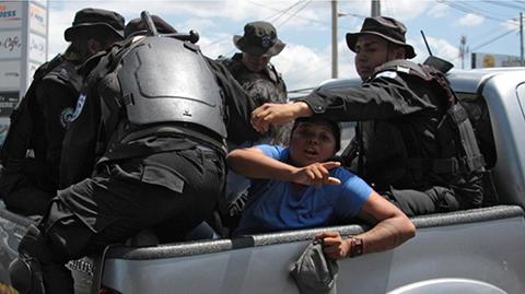 El-regimen-de-Ortega-reprime-la-manifestacion-opositora-en-Nicaragua