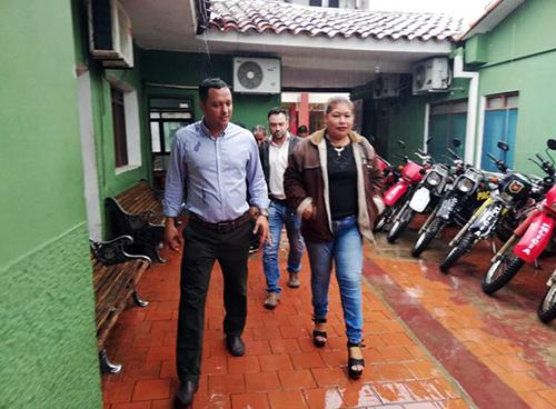 Diputado-Dorado-inspecciona-centros-penitenciarios-de-Montero-y-denuncia-hacinamiento