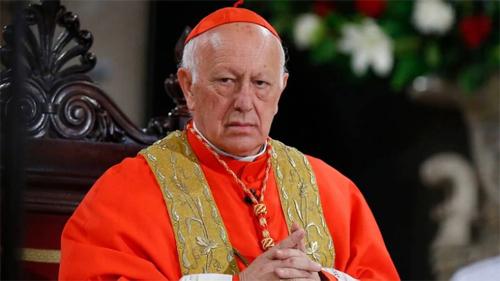 El-papa-Francisco-acepto-la-renuncia-del-arzobispo-de-Santiago-de-Chile,-Ricardo-Ezzati,-imputado-por-encubrir-abusos-sexuales