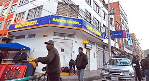 Investigan-un-robo-millonario-a-cajeros-del-Banco-Union-en-Sucre
