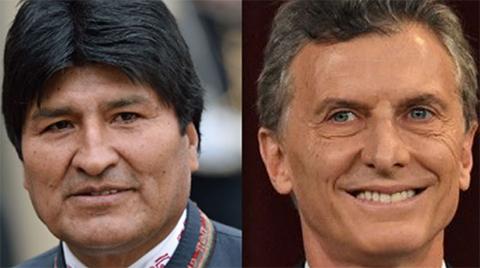 Evo-Morales-envia-condolencias-al-presidente-Mauricio-Macri-por-el-fallecimiento-de-su-padre