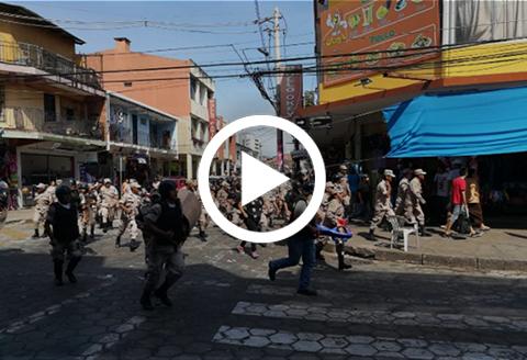 Una--Avalancha--de-gendarmes-sorprendio-a-los-comerciantes-de-Los-Pozos