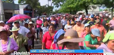 Micreros-marchan-en-la-Avenida-Viedma-contra-el-BRT