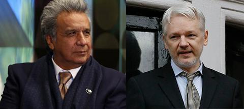 Moreno-acusa-a-Assange-de-querer-usar-la-embajada-como-centro-de-espionaje