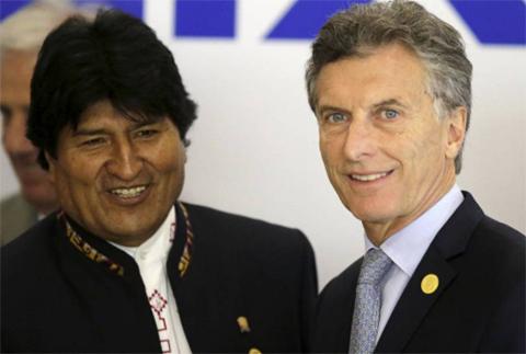 Morales-y-Macri-se-reuniran-este-lunes-para-hablar-sobre-el-gas