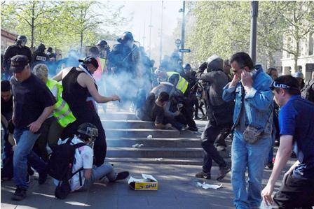 Tension-por-protestas--de--chalecos-amarillos--
