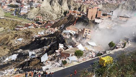 Deslizamiento-en-Sopocachi-Bajo-afecta-a-siete-viviendas