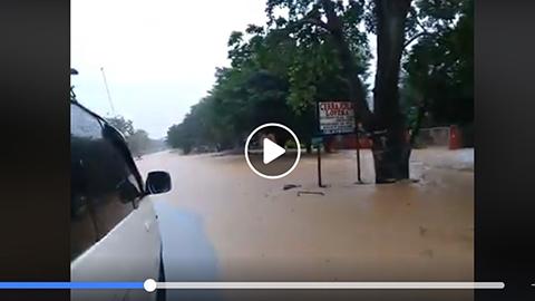 Reportan-desborde-del-rio-Pirai-en-El-Taruma