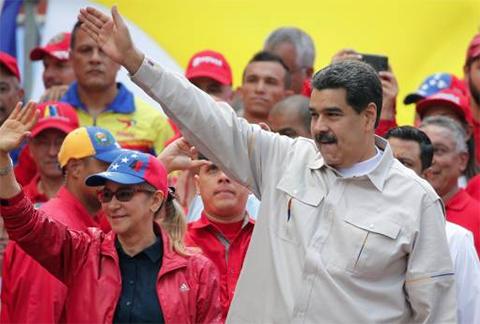 Maduro-pide-ayuda-a-Bolivia,-Mexico-y-Uruguay-para--dialogo-de-paz--en-Venezuela