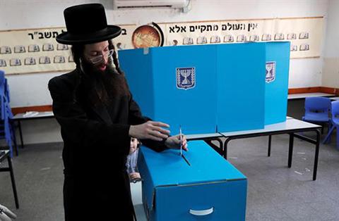 Baja-participacion-en-las-primeras-horas-de-los-comicios-en-Israel