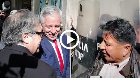 Luis-Almagro-llego-a-Palacio-y-un-activista-le-grito--Bolivia-Dijo-No-