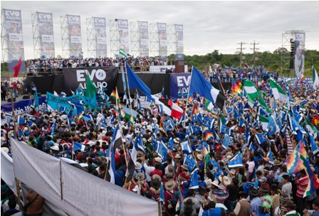 Evo-Morales-abre-su-campana-electoral
