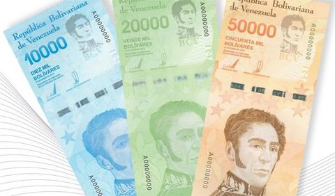 Venezuela-incorpora-tres-nuevos-billetes-a-su-cono-monetario