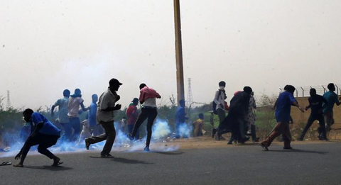 Policia-dispara-sobre-activistas,-cinco-muertos