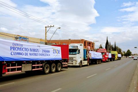 Material-para-fabricacion-de-tuberias-del-proyecto-Ivirizu-llega-a-Bolivia