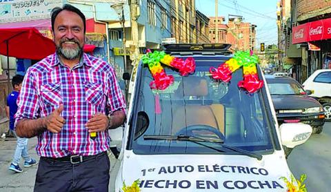 Auto-electrico-ensamblado-en-Bolivia-no-puede-circular-por-no-ser-importado