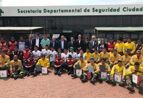 Llegan-200-brigadistas-de-Jujuy-para-combatir-incendios-en-la-Chiquitania