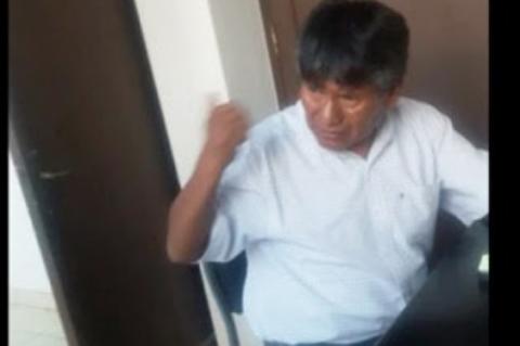 Procesarian-al-policia-que-filmo-al-Gobernador-de-Oruro-en-estado-de-ebriedad
