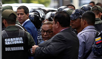 El-chavismo-elige-a-nuevo-presidente-del-Parlamento-sin-Guaido-ni-opositores