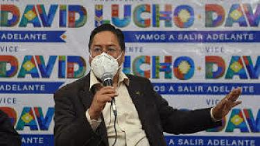 El-MAS-asegura-que-Luis-Arce-gobernara-el-pais,-no-Evo-Morales