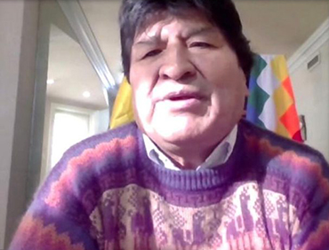 La-Canciller-confirma-que-Evo-Morales-sera-invitado-para-la-transmision-de-mando