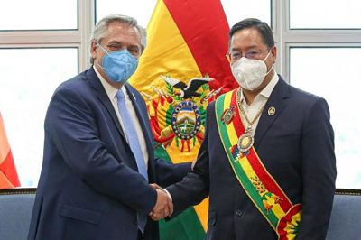 El-presidente-Arce-agradece-a-Fernandez-por-acompanar-la-recuperacion-de-la-democracia-