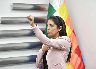 Exjefa-de-gabinete-de-Evo-Morales,-Patricia-Hermosa-es-la-nueva-directora-del-Segip