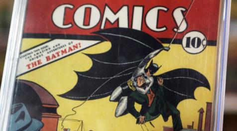 El-primer-comic-de-Batman,-subastado-por-1,5-millones-de-dolares
