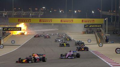 Grosjean,-el-piloto-accidentado-en-Bahrein,-sera-dado-de-alta-este-martes